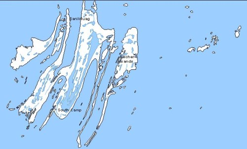 Figure 3. The Belcher Islands, Quebec. Courtesy the Mitiq website.