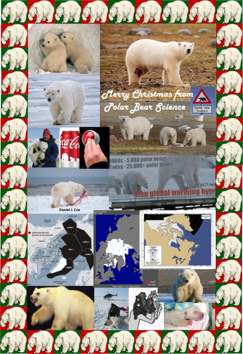 Christmas collage 2013 PolarBearScience