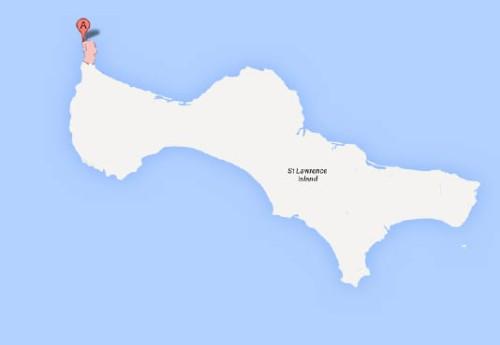 Gambell, St. Lawrence Island, Alaska. Google Maps.