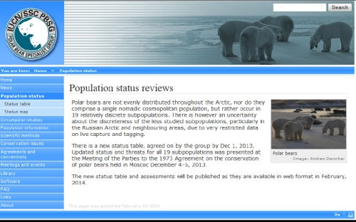 PBSG Population status reviews_Feb 3 2014 notice
