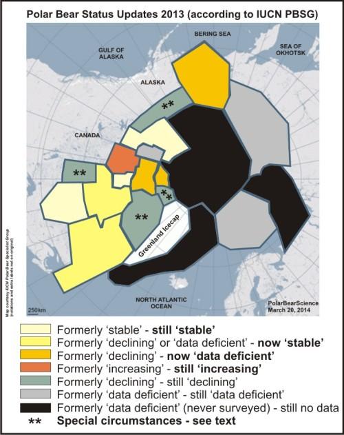 Polar Bear Subpopulations 19_2013 updates_March 20 2014_sm