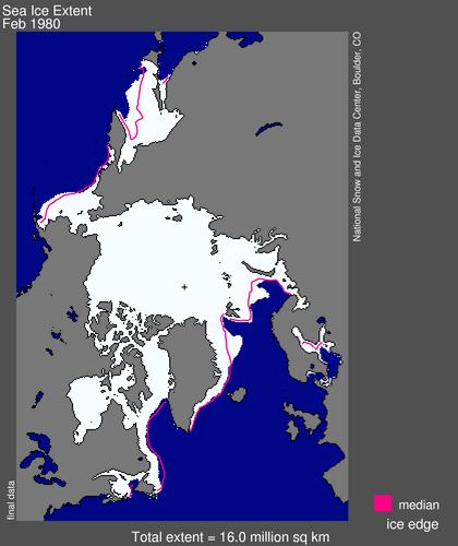 Sea ice extent 1980 February average_NSIDC