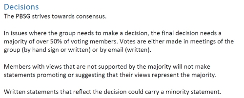 PBSG 2014 Terms of reference_decisions
