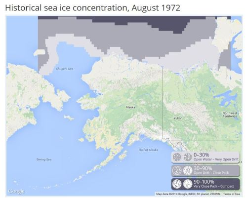 1972 August Sea ice atlas UAF_PolarBearScience
