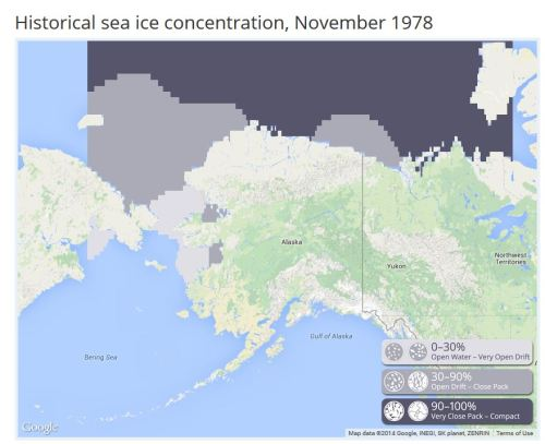 1978 November Sea ice atlas UAF_PolarBearScience
