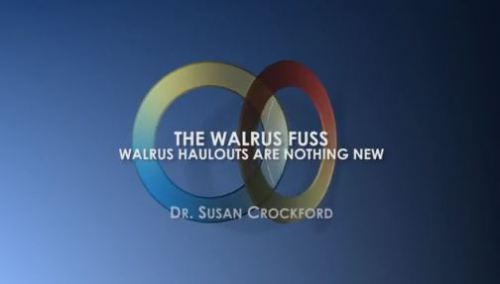 Walrus fuss_GWPF video Crockford