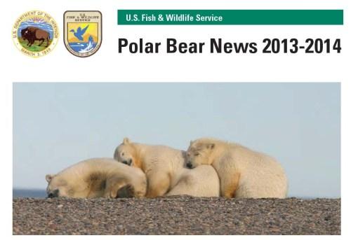 USFWS 2013-2014 PB News_cover_PolarBearScience