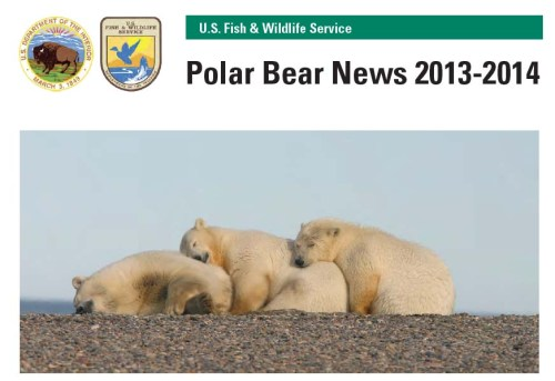 USFWS 2013-2014 PB News_cover_PolarBearScience