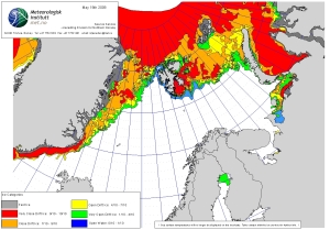 Barents Sea ice 2009_19 May_NIS