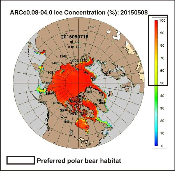 Preferred polar bear habitat 50pc concentration_May 8 2015_PolarBearScience