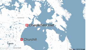 chesterfield-inlet-nunavut-map_CBC 13 Aug 2015
