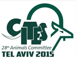 CITES 2015 meeting logo
