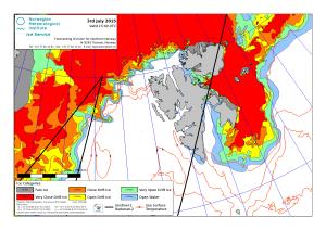 Svalbard ice extent 2015 July 3_NIS