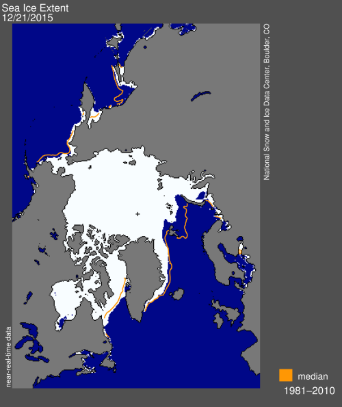 Sea ice extent 2015 Dec 21 NSIDC