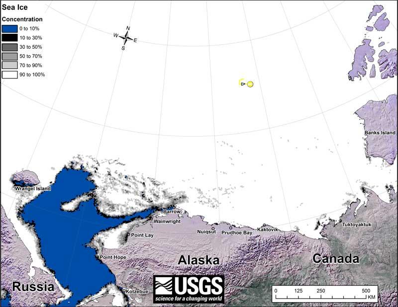 Beaufort tracking USGS bear-movements-November 2015 sm