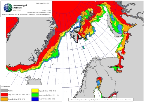 Barents Sea ice extent 2012 Feb 24_NIS