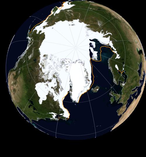 Sea ice extent 2016 Feb 24 NSIDC_sm WUWT