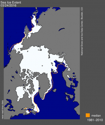 Sea ice extent 2016 March 24 NSIDC_max 14_52mkm2 sm