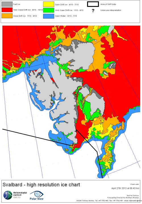 Svalbard ice extent 2012 April 27_NIS