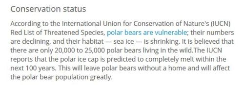 LiveScience_Polar Bear Facts IUCN update_at 15 May 2016