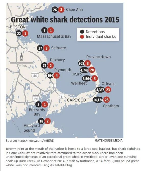 Cape Cod shark detections 2015_CapeCodTimes2016
