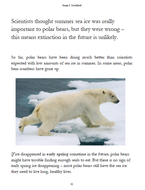 polar bears endangered essay New amnh research suggests polar bears in the warming arctic are changing what they eat a series of papers recently published by scientists at the american museum of natural history suggests that polar bears polar bears are listed as a threatened species under the united states endangered.