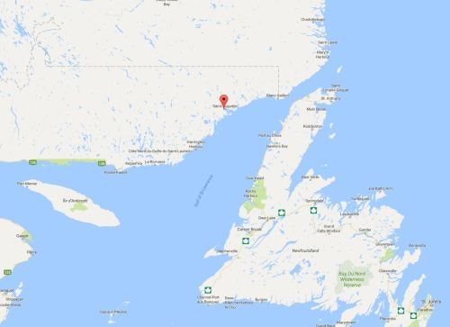 Pakuashipi Quebec google maps location 2017