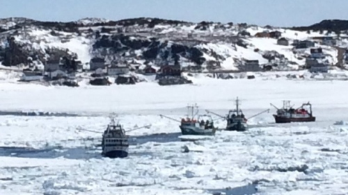 boats-in-ice-near-twillingate_CBC_19 April 2017