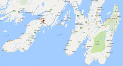 Brookside southern Nfld location