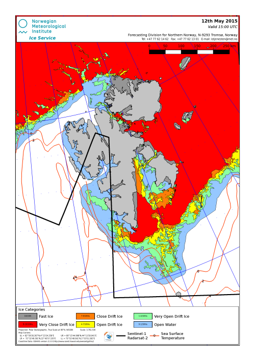 Svalbard ice extent 2015 May 12_NIS