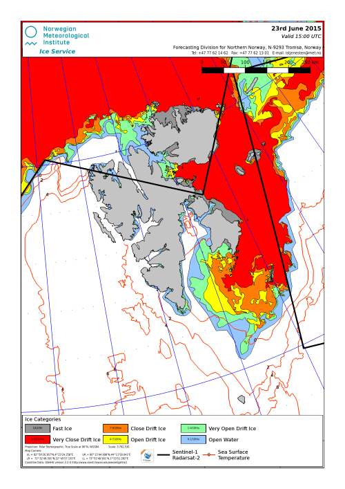 Svalbard ice extent 2015 June 23_NIS from archive