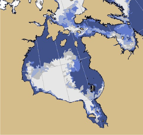 Sea ice extent Canada 2016 July 11_CIS_HB cropped