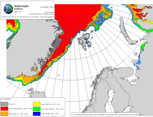 Barents Sea ice 2012_November 19_NIS from archive