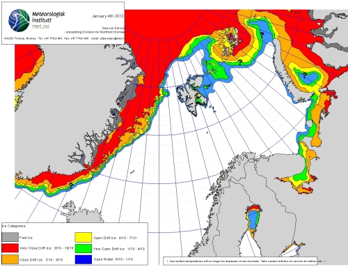 Barents Sea ice 2013_Jan 4_NIS