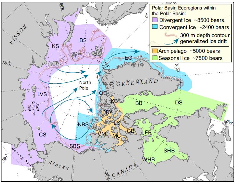 Amstrup et al 2011 fig 1 ecoregions_lg