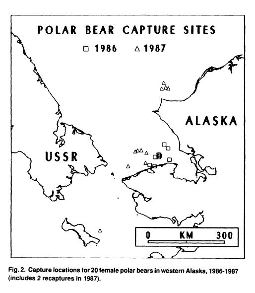 Garner et al 1990 Chukchi and Bering sea PBs Fig 2