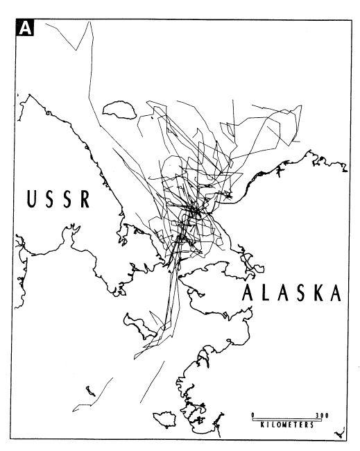 Garner et al 1990 Chukchi and Bering sea PBs Fig 3A April May