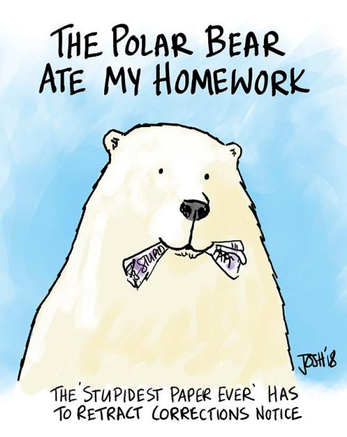 Polar bear paper correction retraction_5 April 2018
