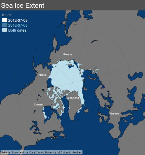 ice_extent_map 8 July 2012 NSIDC