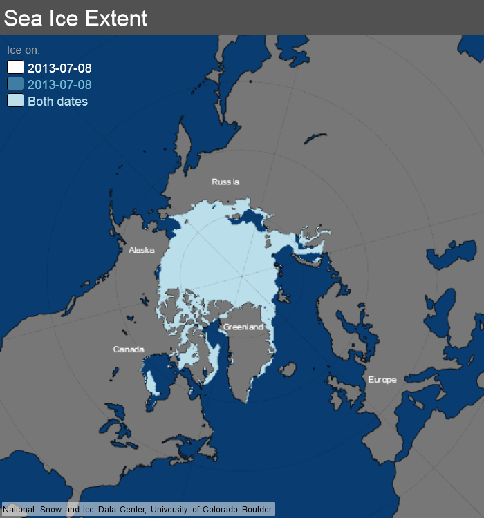 ice_extent_map 8 July 2013 NSIDC