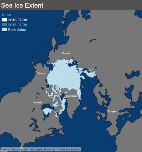 ice_extent_map 8 July 2018 NSIDC