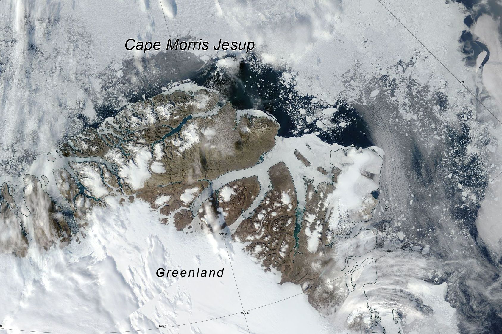 Greenland north open water_13 Aug 2018 NASA_NSIDC 15 Aug 2018 report