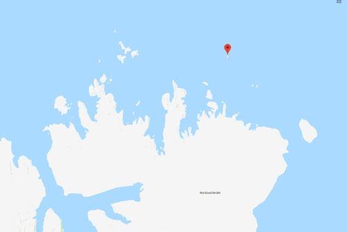Karl XII-oya Island Svalbard location