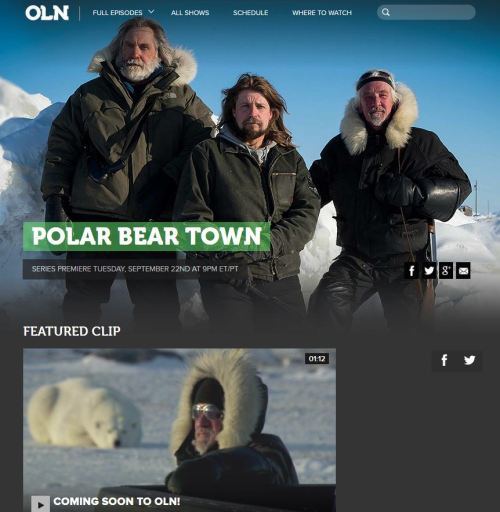 Polar Bear Town premiere Sept 22 2015
