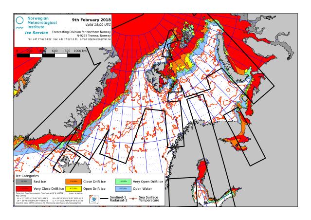 Barents Sea ice extent 2018 Feb 9_NIS