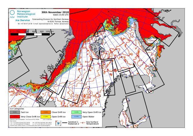 Barents Sea ice extent 2018 Nov 30_NIS