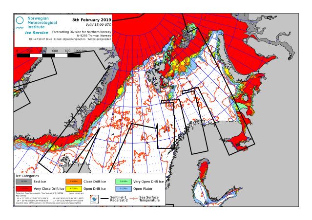 Barents Sea ice extent 2019 Feb 8_NIS