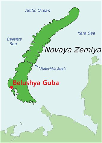 Belushya_Guba_on_map_of_Novaya_Zemlya_SM wikipedia