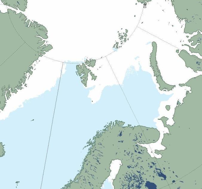 Sea ice at Barents and Kara Seas_11 March 2019 ice at Bear Is