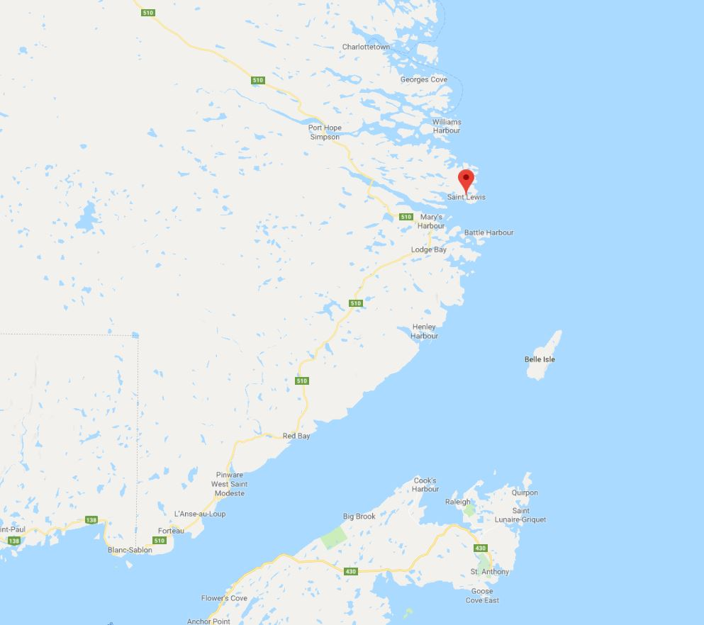 St Lewis and Charlottetown Labrador PB sighting and reaction 28 Feb 2019